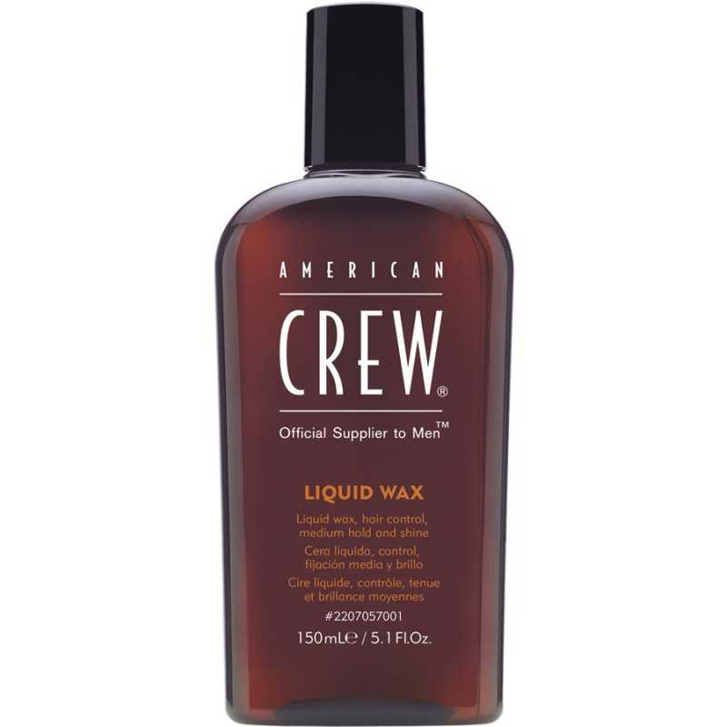 LIQUID WAX 150ML AMERICAN CREW