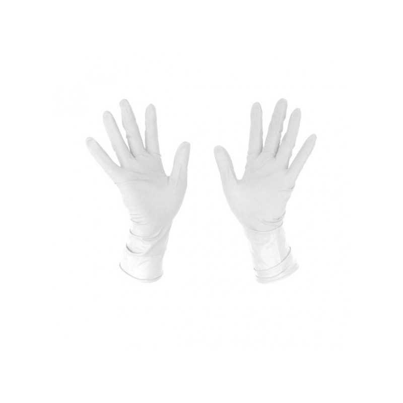 GUANTES LATEX BLANCOS 100 UDS PERFECT...