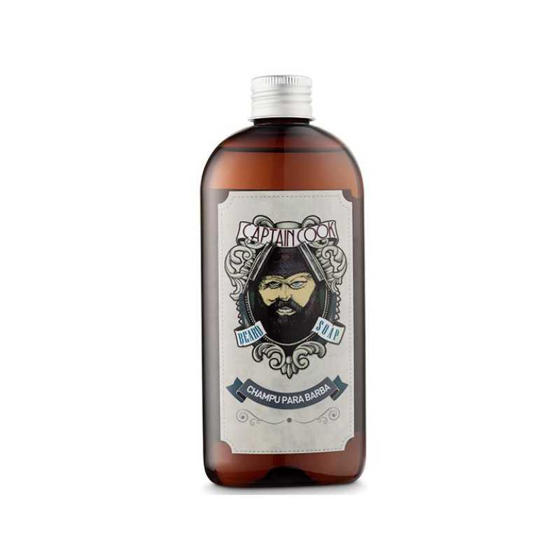 CHAMPU PARA BARBA 250ML CAPTAIN COOK