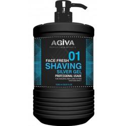 SHAVING GEL SILVER 01 AGIVA