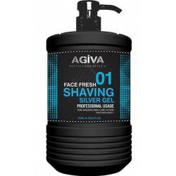 SHAVING GEL SILVER 01 AGIVA