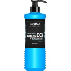 AFTER CREAM COLOGNE SPORT 400ML AGIVA