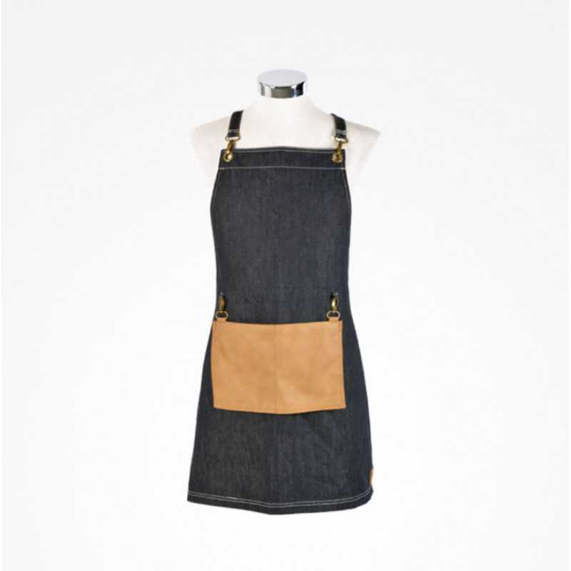 DELANTAL DENIM CON BOLSILLO  PERFECT...