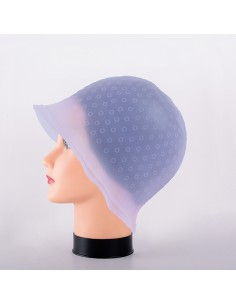 GORRO MECHAS TRANSLUCIDO SILICONA ROSA PERFECT BEAUTY