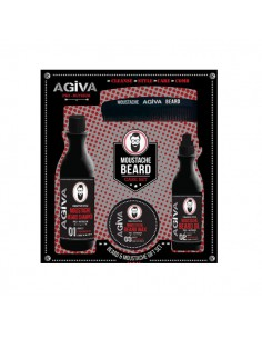 AGIVA BEARD & MOUSTACHE GIFT SET
